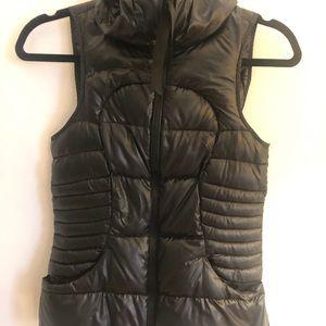 "Lululemon ""pack it down"" shine vest"